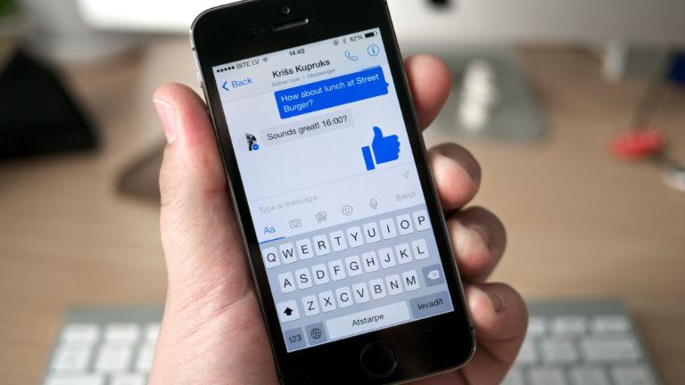 Nagy változás a Facebook Messengerben
