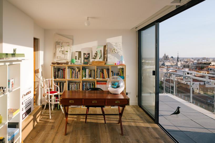 Ennél a tetőteraszos madridi lakásnál ma már nem látsz menőbbet - képek