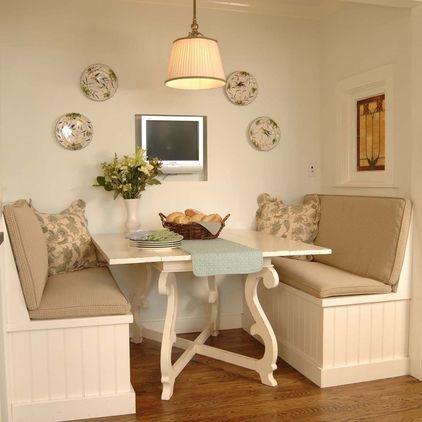 Egy pici étkező is lehet stílusos, divatos és kényelmes.