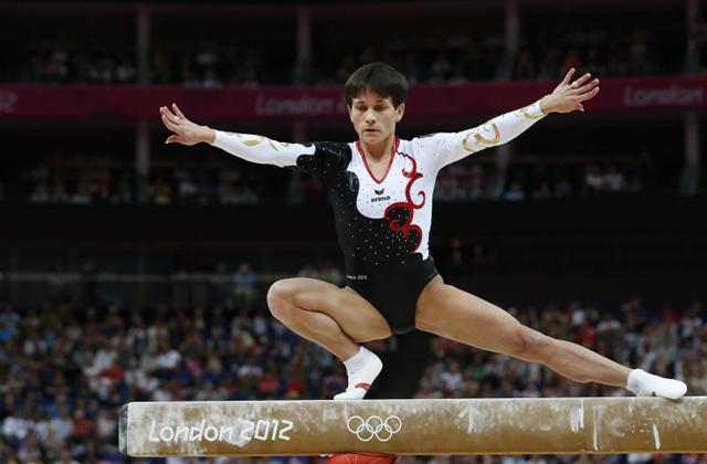 40 évesen a hetedik olimpiájára készül a tornásznő