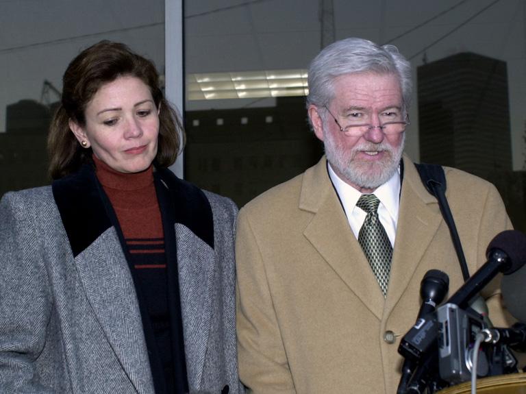 Clara Harris és ügyvédje