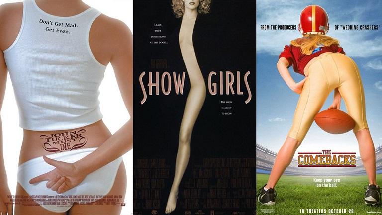 Hová tűntek a női fejek? Aggasztó gyűjtemény Hollywood szexista plakátjaiból - képek