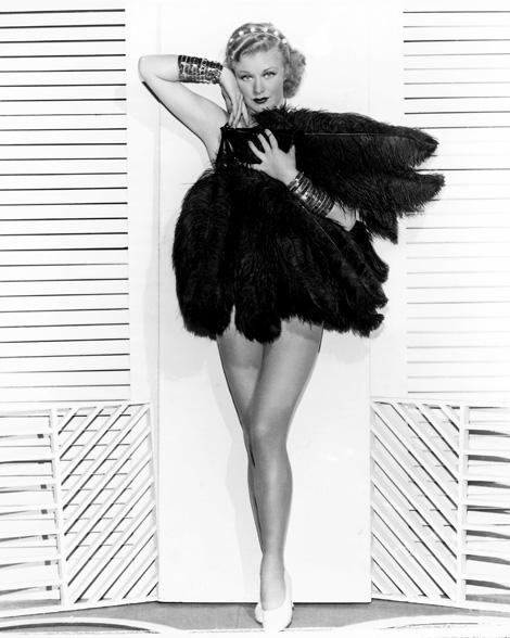 Ginger Rogers, ugyanazt tudta, mint Fred Astaire, de tűsarkúban és hátrafelé
