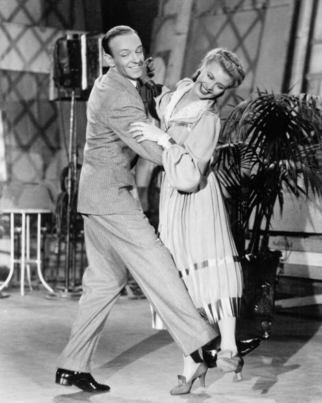 Fred Astaire és Ginger Rogers az 1935-ös Frakkban és klakkban c. filmben
