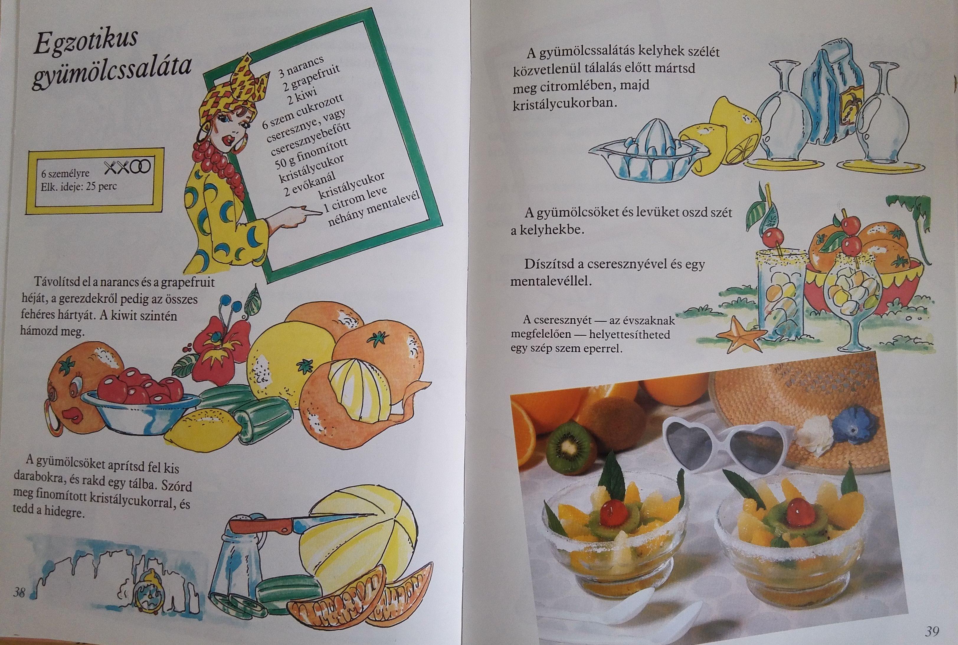 Ropiházikó és bonbonos vonat: retró szakácskönyvek gyerekeknek