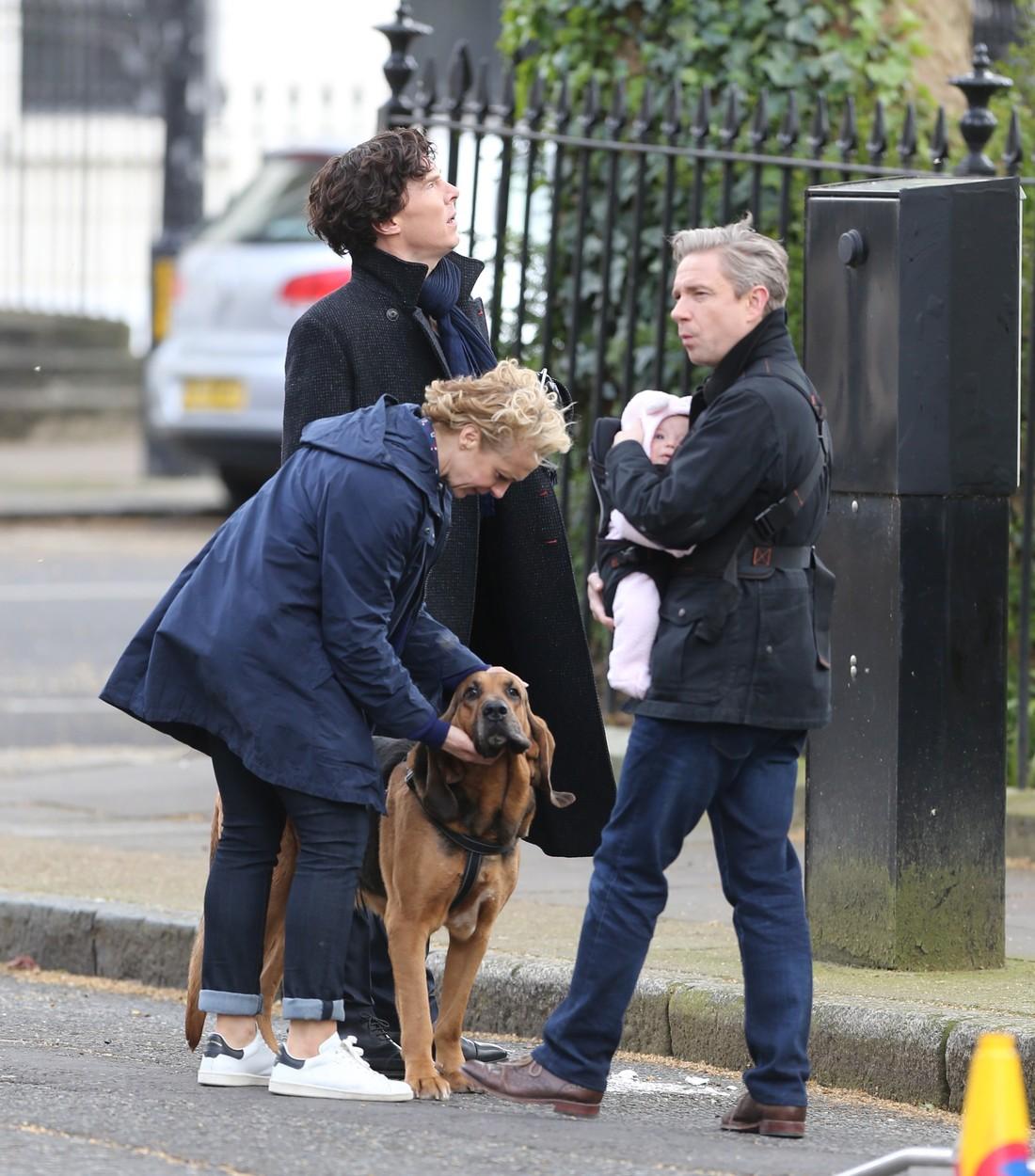 A játszam elkezdődik - Forgatási képek az új Sherlock évadról