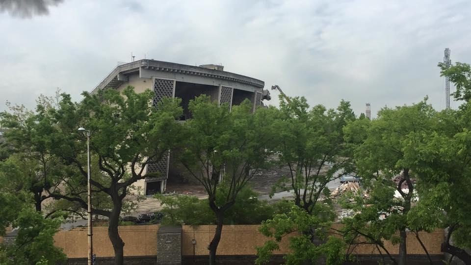 Így bontják a Puskás Ferenc Stadiont - képek