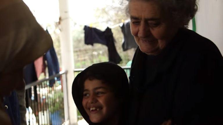 Így él a menekültek Nagymamája