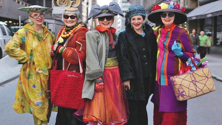 Ezek az idősek bebizonyítják, hogy a divat nem ismer korhatárokat