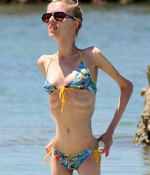Félelmetes a 40 kilós Jennifer Aniston - nézd meg a csontsovány sztárokat