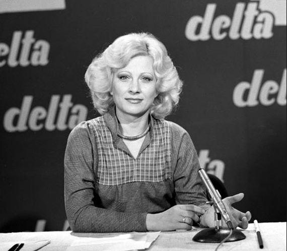 Kudlik Júlia a Delta című műsorban 1970es években
