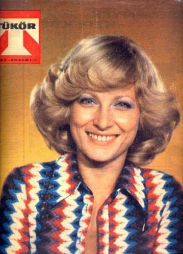 Címlapon Kudlik Júlia 1975
