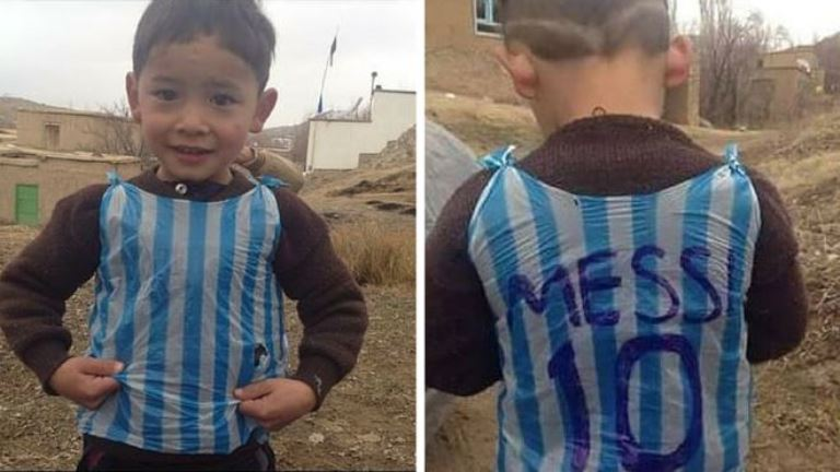 A zaklatás elől menekült el a Messi-rajongó kisfiú családja