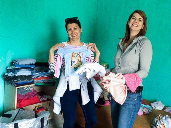 Átválogattuk a ruhákat, hogy másoknak is jusson