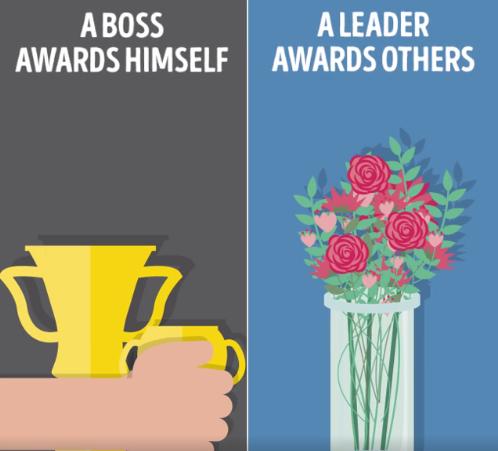 Hat fontos dolog, ami megkülönbözteti a főnököt a jó vezetőtől