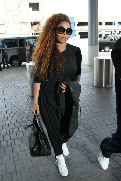 Terhes az 50 éves Janet Jackson