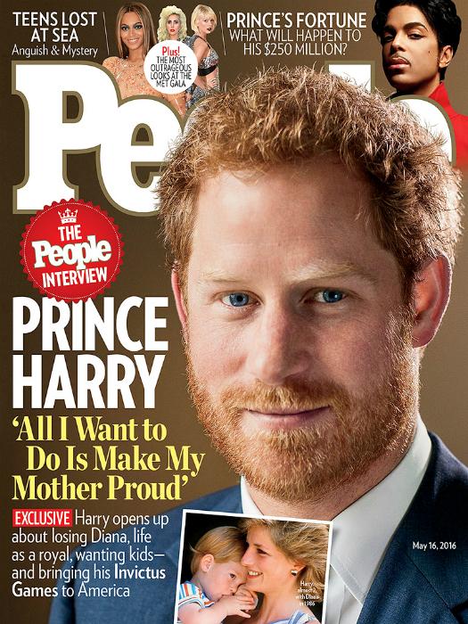 Harry herceg: arra vágyom, hogy anya büszke legyen rám