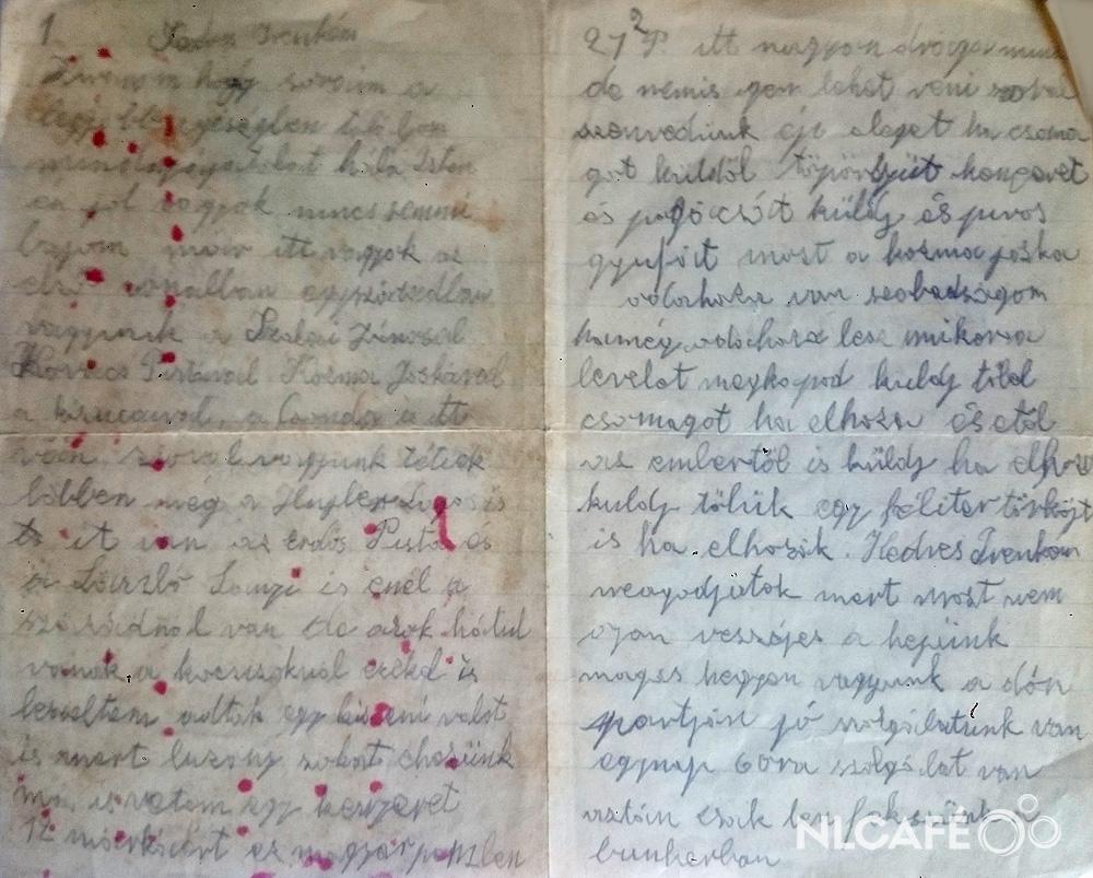 A dédnagyapám levele a Don-kanyarból, 1943 januárjából