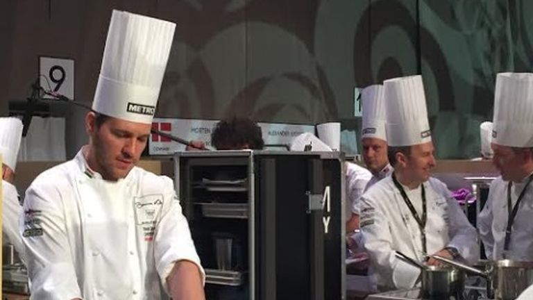 Széll Tamás nyerte a Bocuse d'Or európai döntőjét