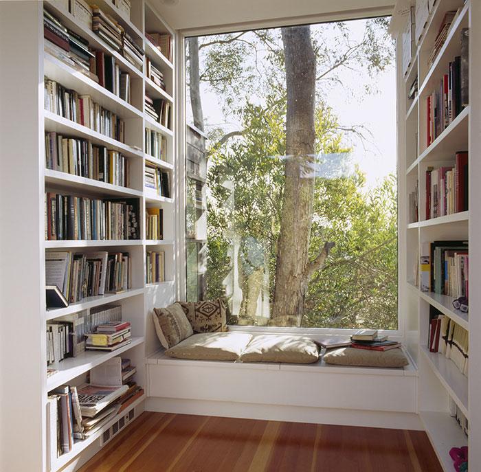 Menedékek könyvmolyoknak - a legjobb olvasós zugok