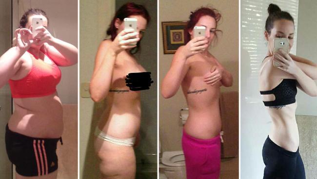 A szelfizés segített lefogyni a túlsúlyos lánynak