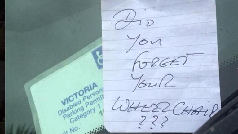 Beszóltak a parkolóban a beteg nőnek - zseniálisan vágott vissza