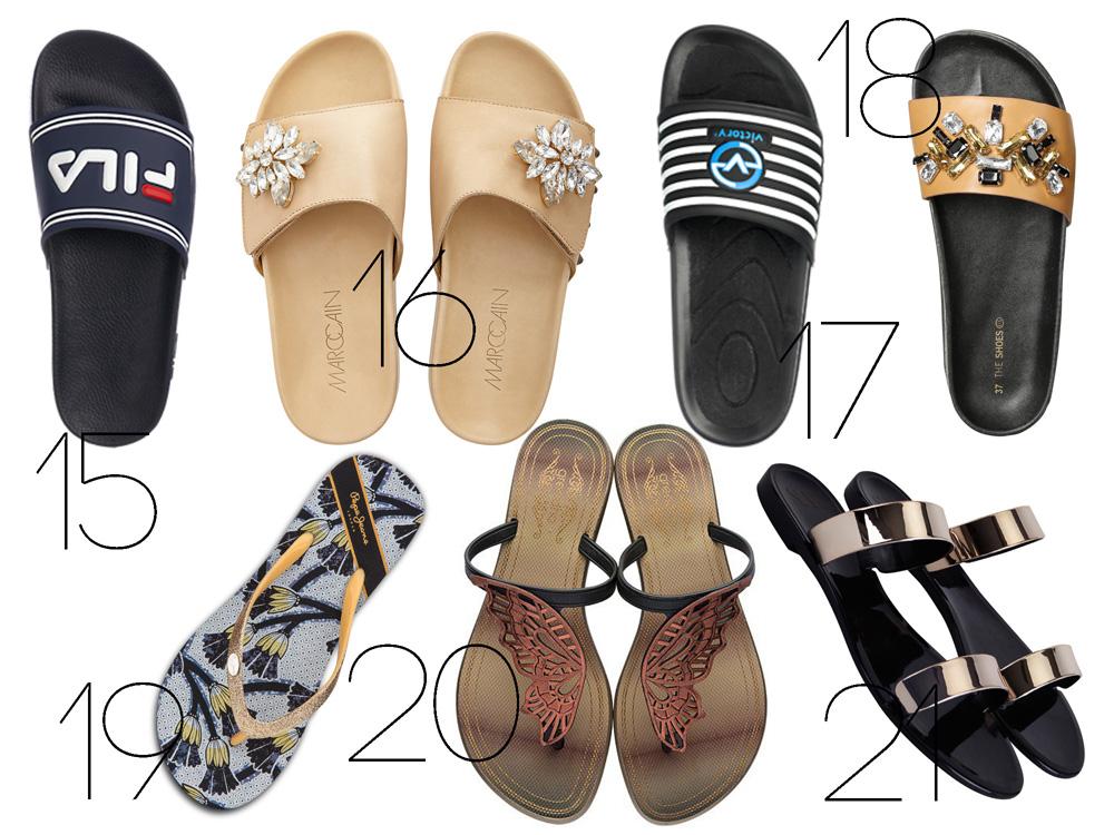 21 kényelmes és divatos szandál és papucs | nlc