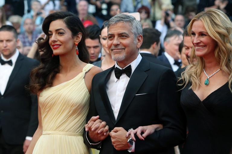 Amal, George és Julia