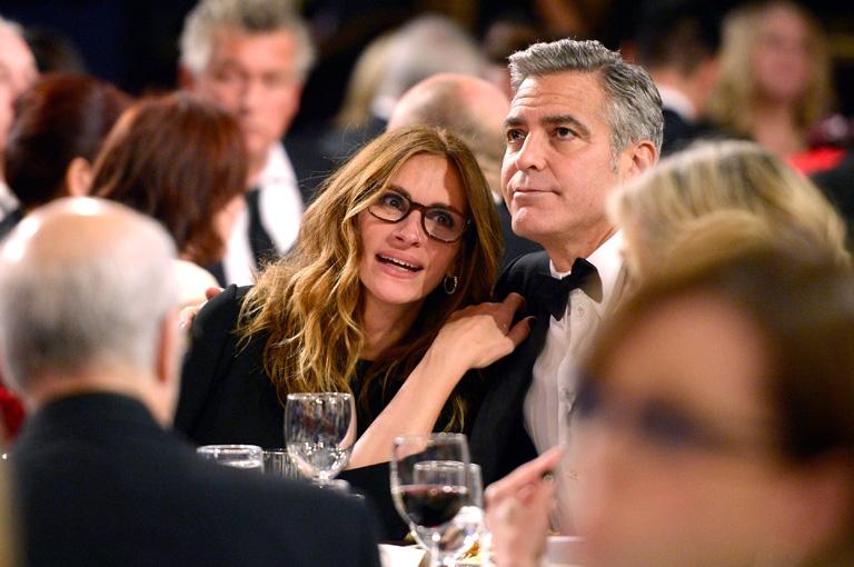 Julia és George a 2013-as BAFTA díjátadón