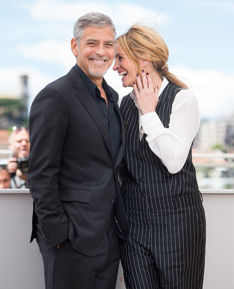 George és Julia Cannesban