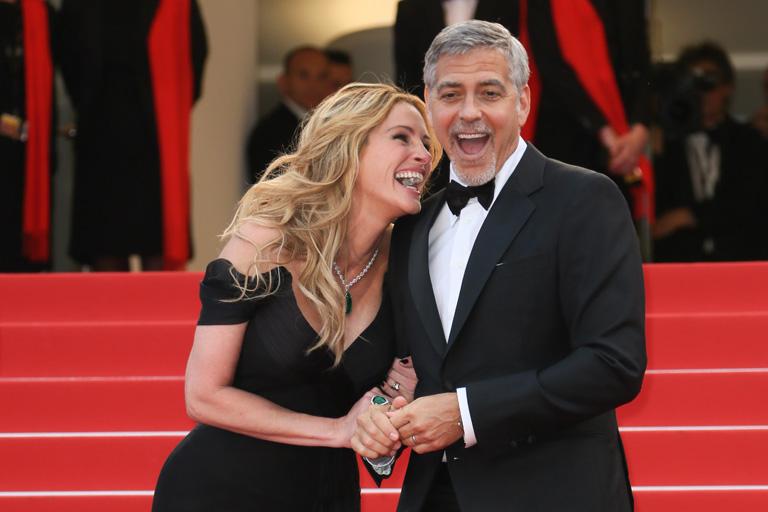 A Pénzes cápa bemutatóján Cannesban