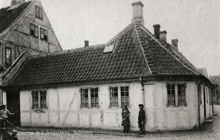 Ebben a házban nőtt fel Andersen