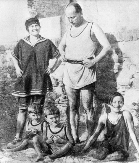Rachele és Benito Mussolini