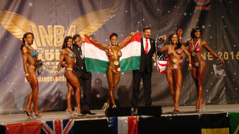 Magyar siker: Bánkuti Gabi testépítőnő nyerte a világbajnokságot