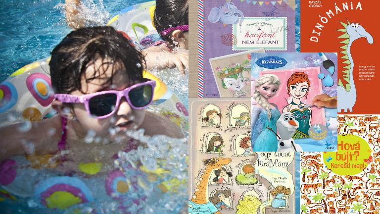 20 könyvet ajánlunk, ami lefoglalja a totyogósokat és a kamaszokat is a strandon