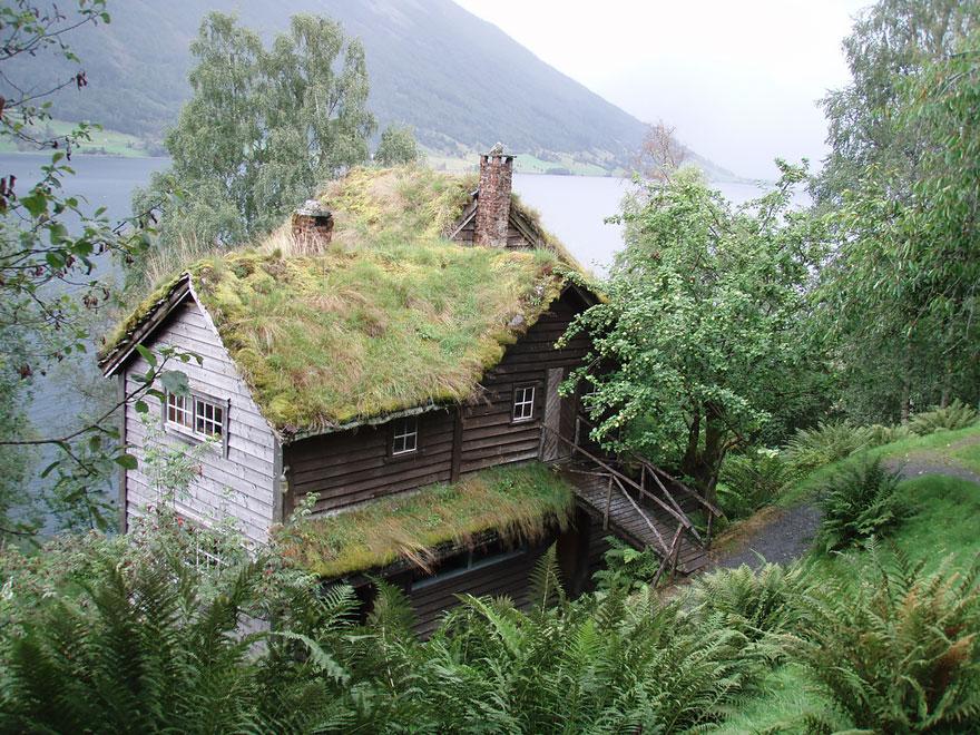 10 csodás skandináv ház, ami úgy fest, mintha tündérmeséből szalajtották volna
