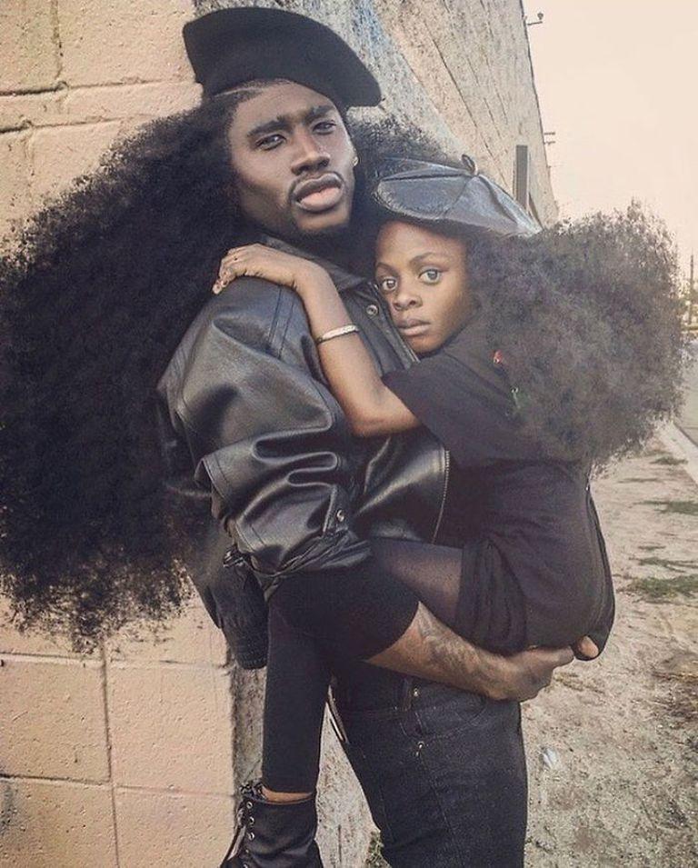 Egyforma frizurával hódít apa és lánya