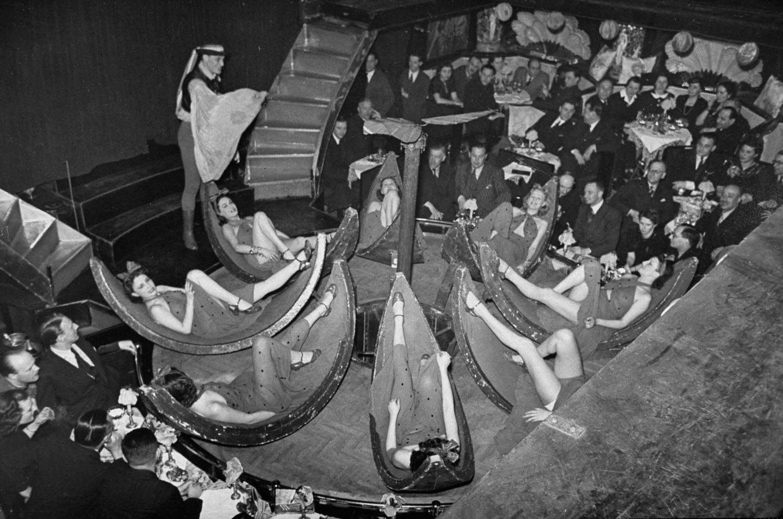 Így pezsgett az élet a budapesti éjszakai bárban 1938-ban - fotók