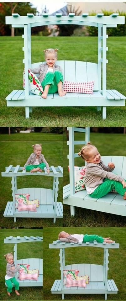 Imádnivaló gyerekágyak raklapból - képek