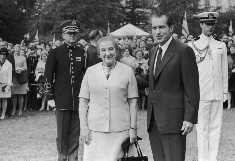 Meir és Nixon
