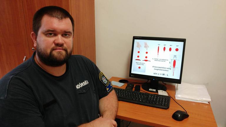 Dr. Petrétei Dávid a BSZKI vérnyom-specialistája (Fotó: Andersen Dávid)