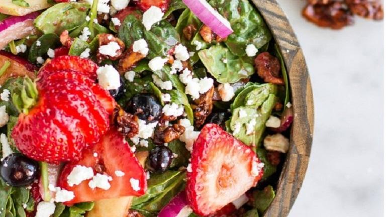 Könnyű nyári saláta, ami bármelyik diétába belefér