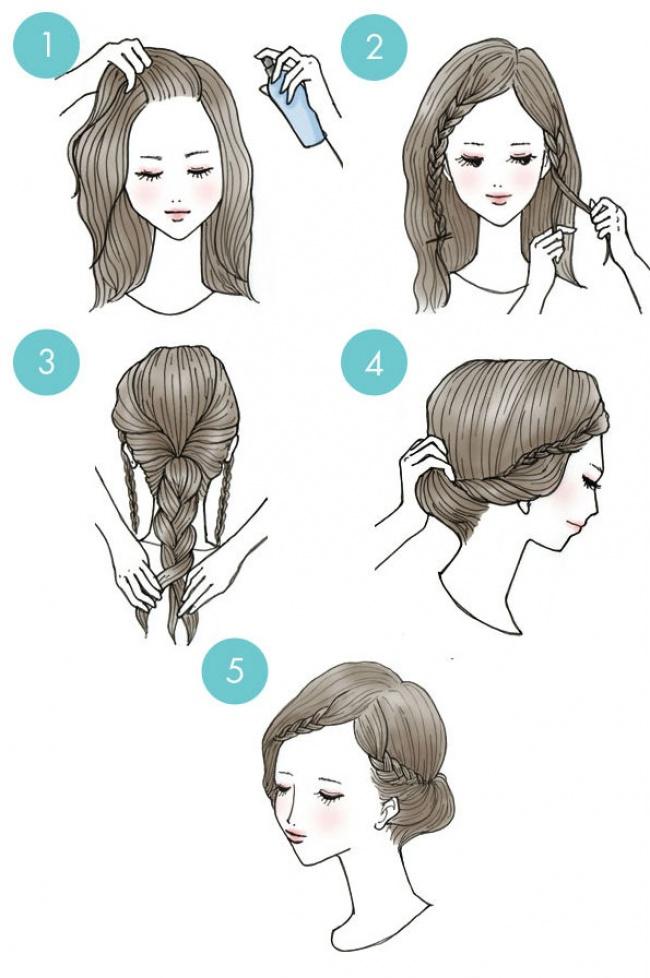 Pár másodperc alatt csodaszép frizurád lehet, ha megnézed ezeket a képeket