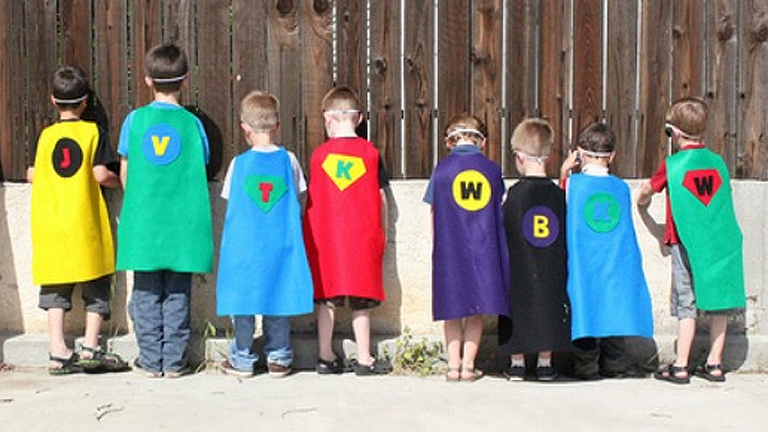 A büszke tulajdonosok (Fotó: Capes for Kids)