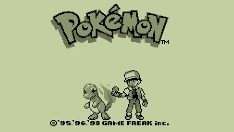 Az eredeti játék kezdőképernyője