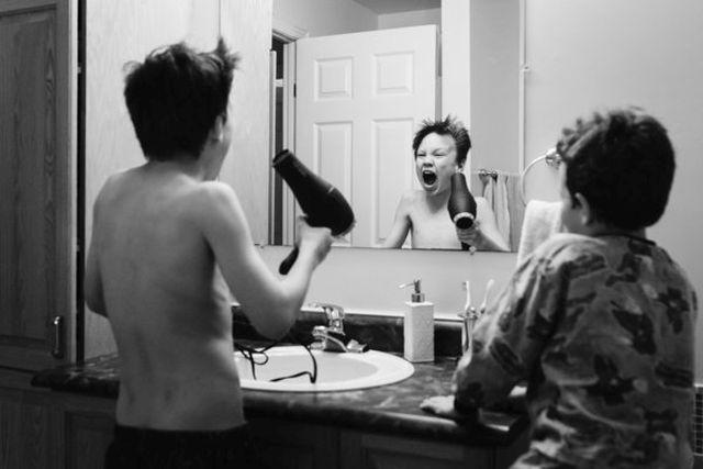 Ilyen az élet gyerekekkel a valóságban - fotók