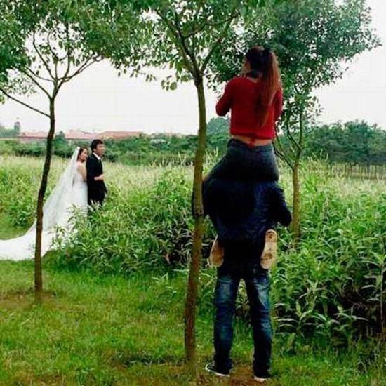 A fotó asszisztens cudar élete képekben