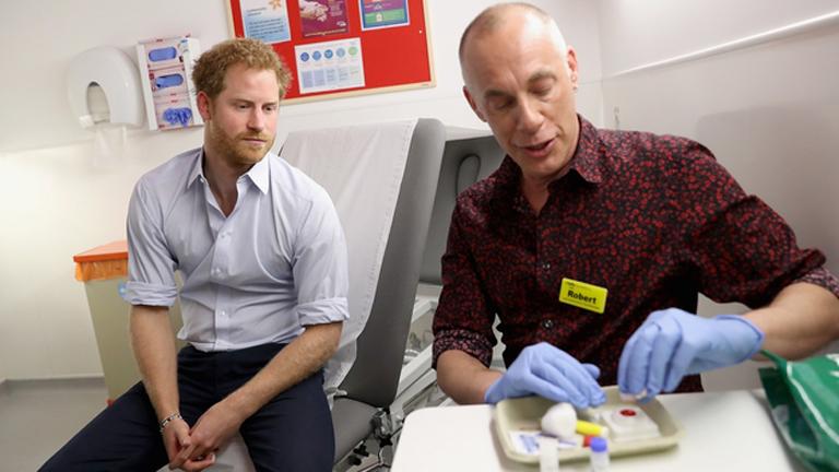 Harry herceg a vérvizsgálat eredményét várja (Fotó: Kensington Palace)