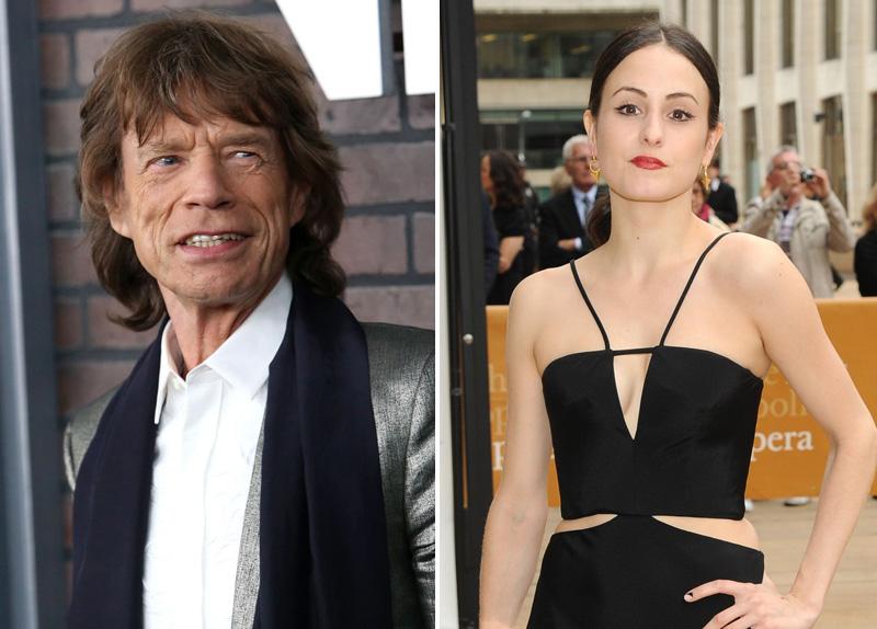 Mick Jagger és Melanie Hamrick