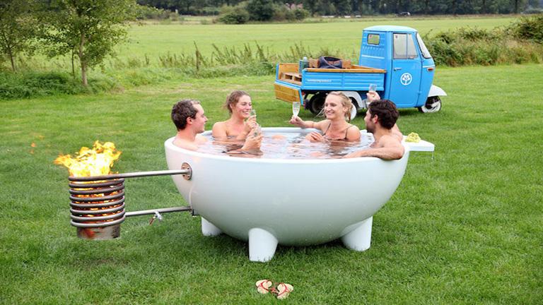 Imádni fogod a hordozható termálfürdőt!